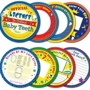 Tooth Fairy's Baby Tooth Case Blue