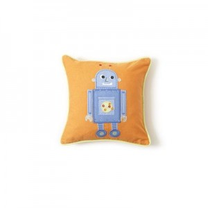 The Little Acorn Tooth Fairy Pillow, Blue Robot