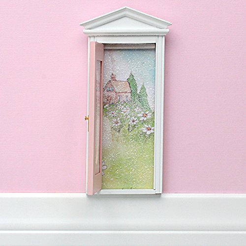 Tooth fairy door and fairy dust gift set pink for Pink fairy door