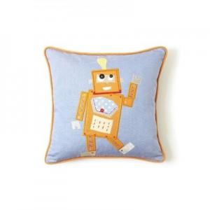 The Little Acorn Tooth Fairy Pillow, Orange Robot