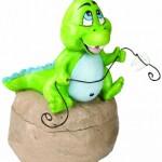 "Lillian Rose Tooth Fairy Box, Dinosaur, 2.5"""