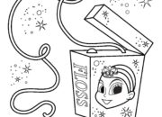 Tooth Fairy Floss Coloring Page